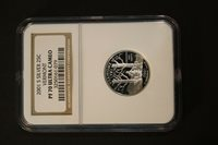 NGC PF 70 Ultra Cameo 2001 S Silver State Quarter Vermont