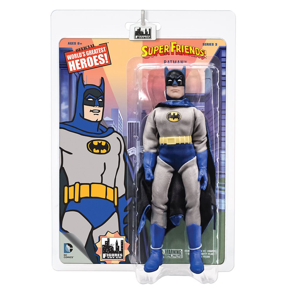 Super Friends Retro Style Action Figures Series 1 Robin by FTC
