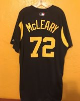 PITTSBURGH PIRATES SPRING TRAINING GAME WORN JERSEY McLEARY SIZE 50