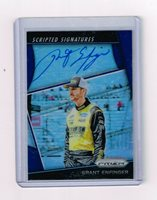 2018 PANINI PRIZM GRANT ENFINGER SCRIPTED SIGNATURES BLUE AUTO CARD#SS-GE /75