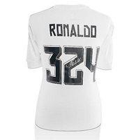 231853023 Cristiano Ronaldo Signed Real Madrid 2015 2016 Home Shi