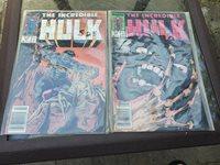 The Incredible Hulk #358 and #357 (Aug 1989, Marvel)