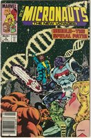 Marvel The Micronauts The New Voyages #5 (Feb. 1985) Mid Grade