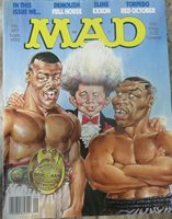 """Mad Magazine #297 September 1990 """" Mike Tyson Cover """""""