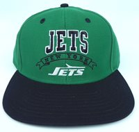 2f7bc6db ... spain new york jets nfl vintage snapback retro 2 tone flat bill cap hat  new c9884