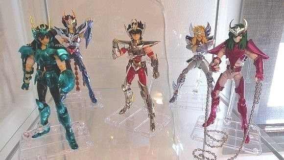 3x Saint Seiya Action Figure Display Support Model Soul Stand Bracket STAGE ACT