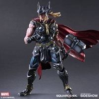 Marvel Universe 11 Inch Action Figure Play Arts Kai - Thor Variant (Shelf Wear Packaging)