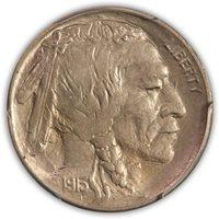 SOLD 1913-S Buffalo Nickel, Type 2 PCGS MS 63