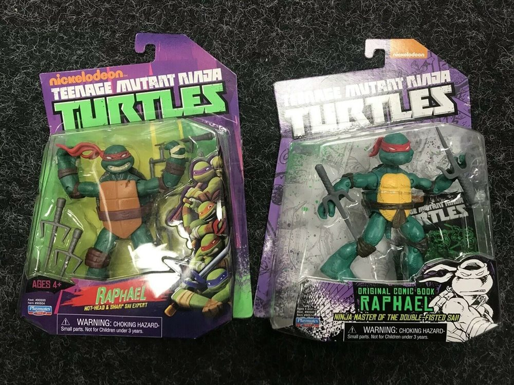 2012 2014 Teenage Mutant Ninja Turtles Raphael Set Th