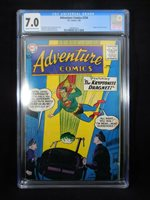 ADVENTURE COMICS #256 1959, Green Arrow Origin; Kirby art!