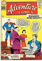 ADVENTURE COMICS #288 1961, Bizarro cover