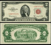 FR. 1512* $2 1953-C Legal Tender Choice CU+ Star