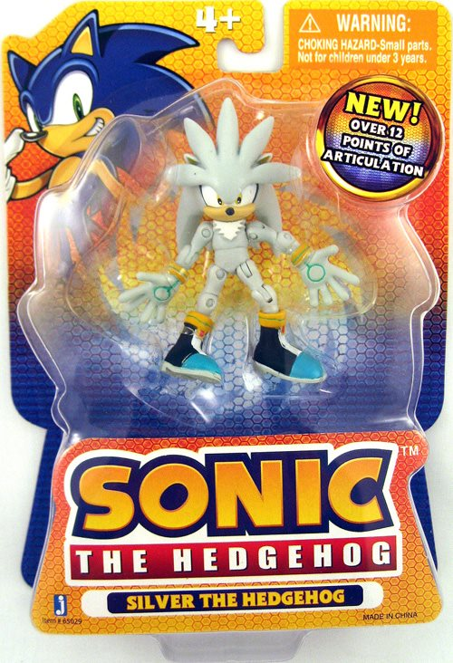 Sonic The Hedgehog 3 Inch Action Figure Series 3 Silv