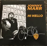 "AUTOGRAPHED Johnny Marr Hi Hello Signed 7"" Vinyl Record Single"