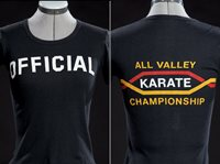 Female official t-shirt from THE KARATE KID