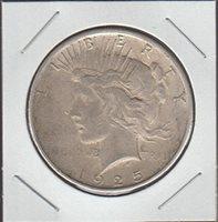 1925 Peace (1921-1935) $1 Choice Fine Details