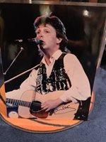Super Rare Paul McCartney Signed Autographed 16 By 20 Photo PSA LOA Beatles