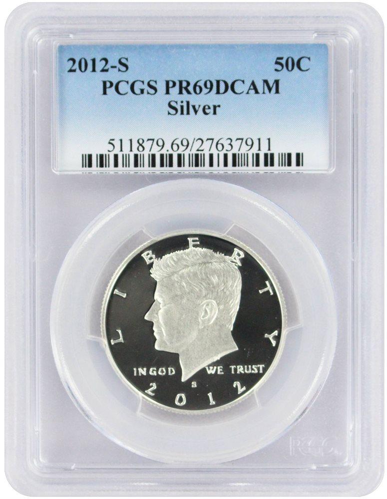 2012-S Silver Kennedy Half PCGS PR69 DCAM