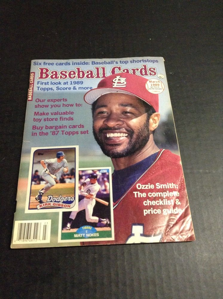 March 1989 Baseball Cards Magazine Price Guide