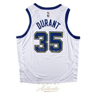 2fe7fde0bae Kevin Durant Autographed Nike Golden State Warriors Har