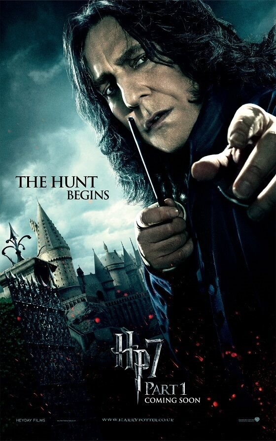 Harry Potter Movie Poster Deathly Hallows Part 1 Snape 11 X 17