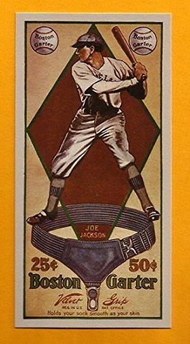 Shoeless Joe Jackson 1914 Boston Garter Reprint Card