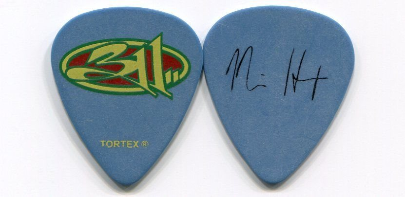 311 THREE ELEVEN 2008 Unity Tour Guitar Pick NICK HEXUM custom concert stage #3