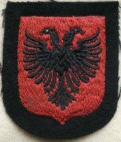 Unused SS Albanian Volunteer Sleeve Shield