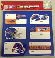 boise state christmas present name labels team gift sti