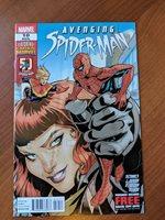 AVENGING SPIDER-MAN #10 2012 2ND CAROL DANVERS AS CAPTAIN MARVEL!