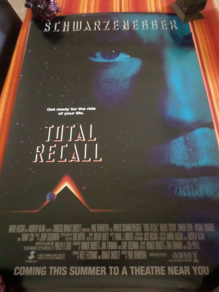 original total recall movie poster