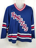 c06c97eda4e NY New York Rangers Vintage Jersey 1980s CCM Maska NHL Hockey Mens size  Medium