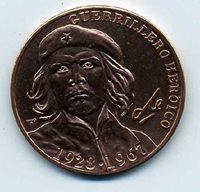 Terrific Cuba Che Medal , Great Collectors Item