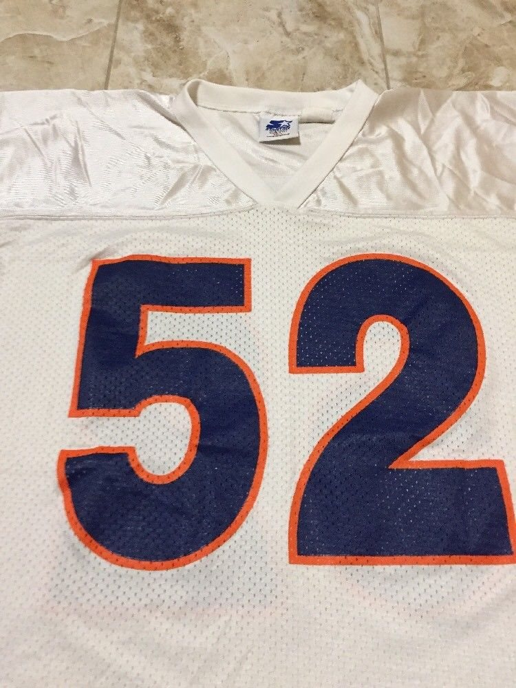 63e3c72b9d9 Vintage Starter Brian Cox Chicago Bears Jersey Size 48