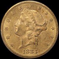 $20.00 - 1883-CC PCGS MS61 CAC — Douglas Winter Numismatics