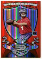 2007 Bowman Sterling Red Refractor TYLER THIGPEN RC SP Kansas City Chiefs #1/1