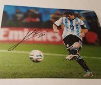 Lionel Messi Autographed 8x10 Photograph