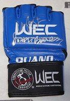 Joseph Benavidez & Urijah Faber Signed Official WEC Fight Glove COA UFC - PSA/DNA Certified - Autographed UFC Gloves