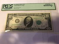 1981 A $10 New York Federal Reserve Notes FR 2026-B PCGS 65 PPQ