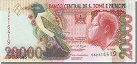 20,000 Dobras Saint Thomas and Prince Banknote, 2004-08-26, Km:67b