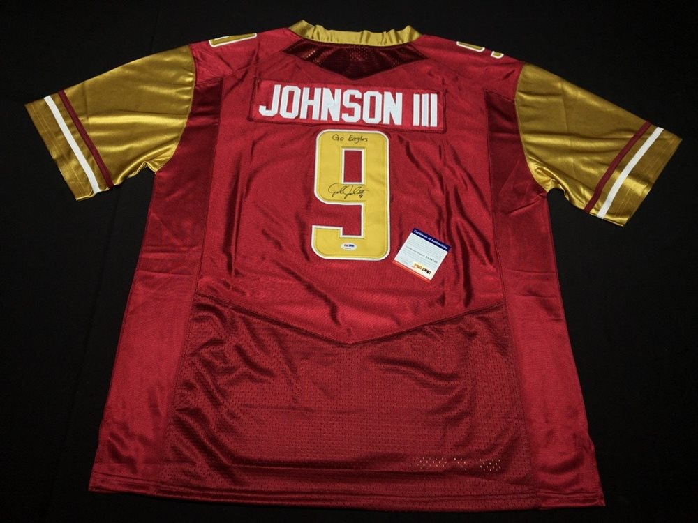 new arrival 20344 4df73 John Johnson Iii Autographed Signed Boston College Eagles Jersey Go Eagles  Rams Memorabilia PSA/DNACUSTOM FRAME YOUR JERSEY