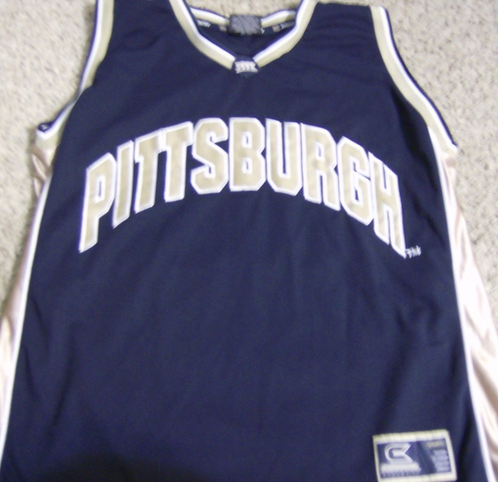 designer fashion 5e839 47ac0 Vintage Pittsburgh Panthers Basketball Jersey #30 Colosseum athletics XL  Blue!!