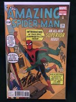 RARE (DITKO VARIANT) w/COA - AMAZING SPIDER-MAN #700 (Autographed by Stan Lee)