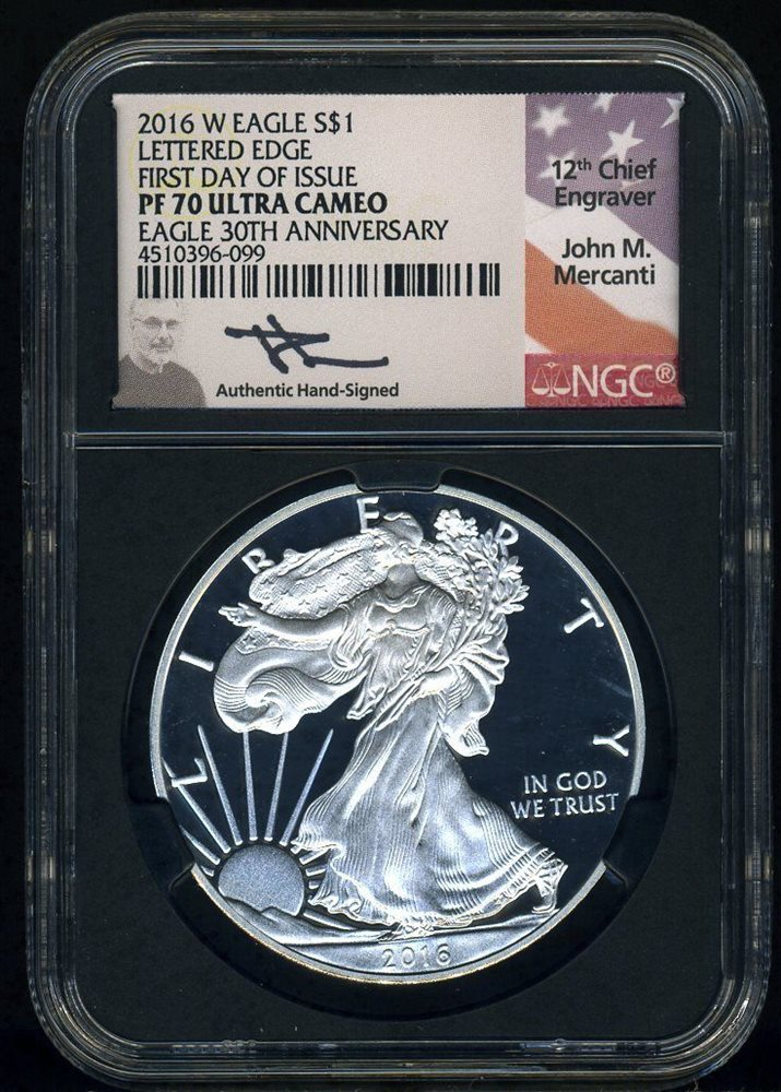 2018S Silver Eagle Limited Edition Set First Day of Issue PF70 PF70 SKU C6