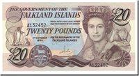 20 Pounds Falkland Islands Banknote, 1984-10-01, Km:15a