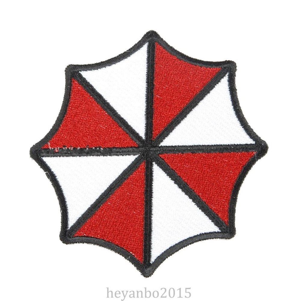 Resident Evil Umbrella Corporation Logo Embroidered Bad