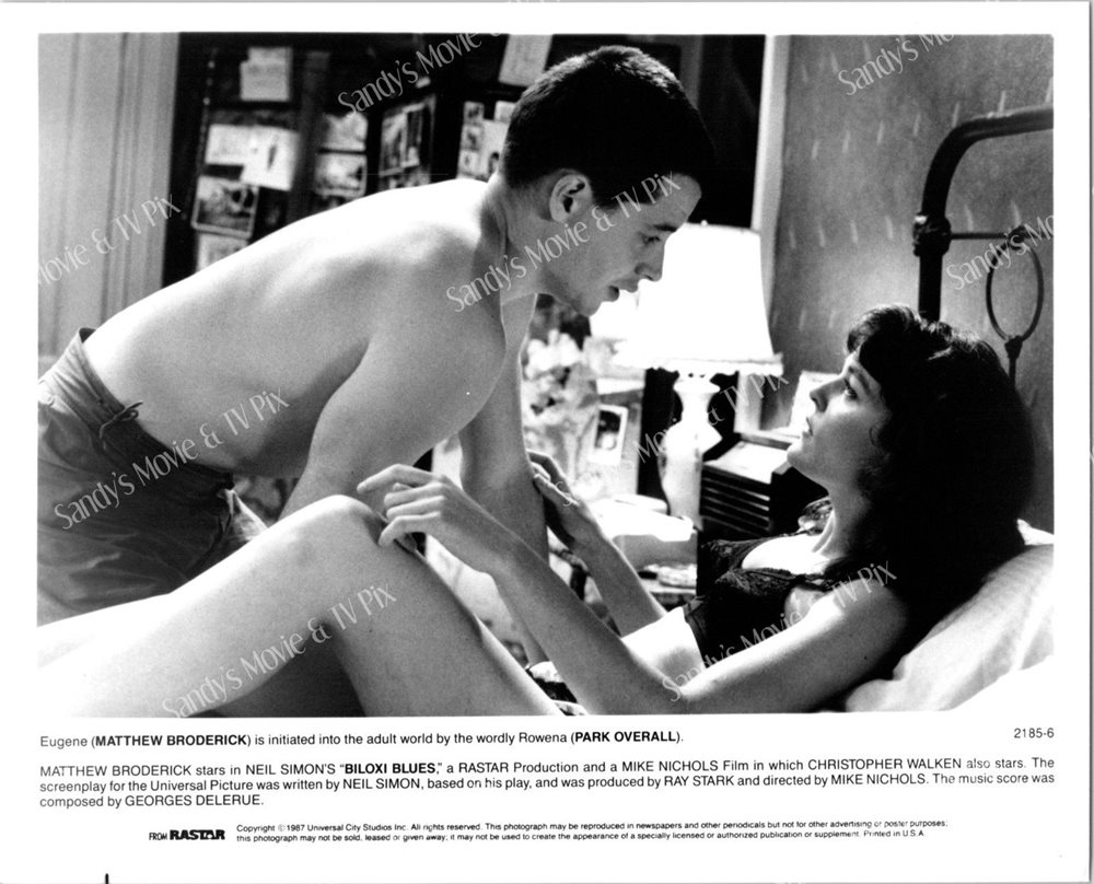 Matthew Broderick Park Overall Original Movie Photo Bi