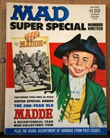 MAD Magazine Super Special Number 19 No insert Good Condition