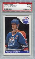 1985 Topps Wayne Gretzky #120 PSA 9
