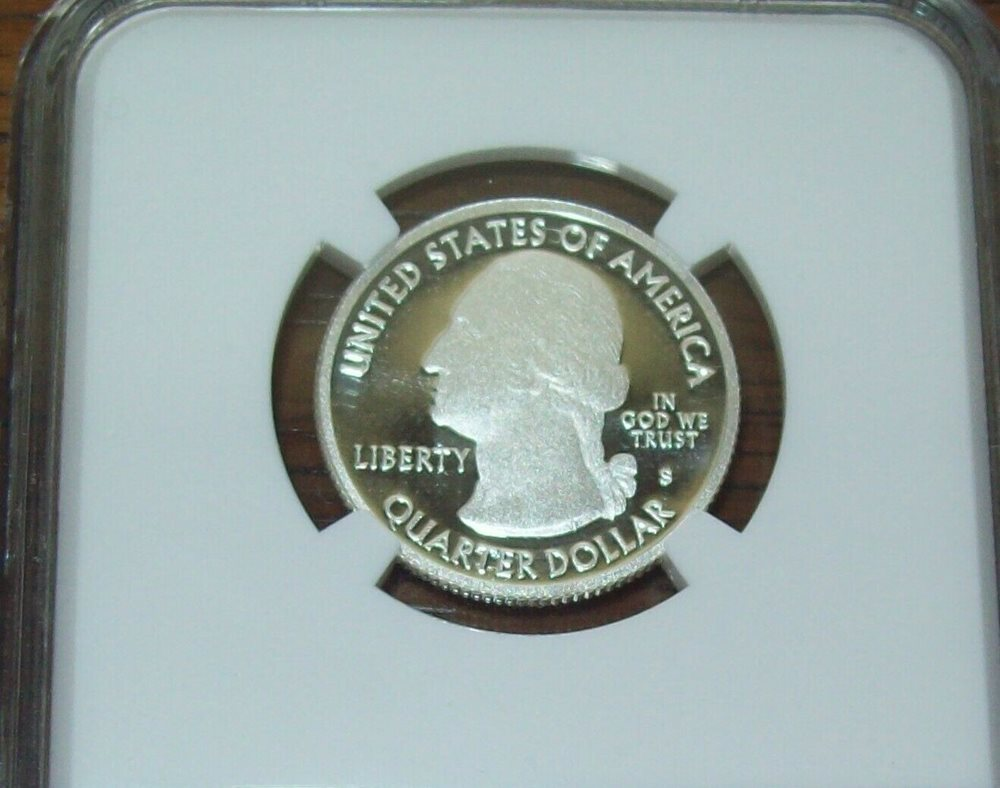 2013 S Silver Proof Great Basin Quarter NGC PF 70 Ultra Cameo